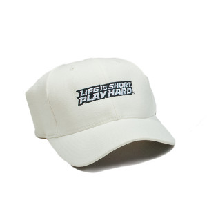 White Flex Fit Cap